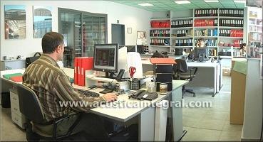 Ac stica integral insonorizaci n ac stica ingenier a for Oficinas hacienda bizkaia